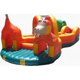 Commercial Inflatable Interactive Game 4006