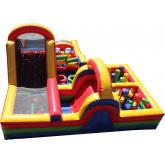 Commercial Inflatable Interactive Game 4030