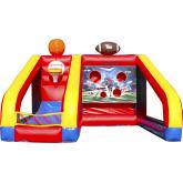 Commercial Inflatable Obstacle Course 4034
