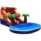 Commercial Inflatable Water Slide P2002