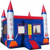 Inflatable Commercial Bounce House 1039