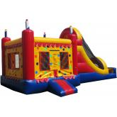 Inflatable Commercial Bouncy Combo 3027