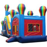 Inflatable Commercial Bouncy Combo 3032