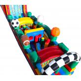 Inflatable Obstacle Course 5012
