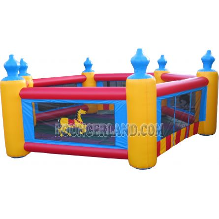 Commercial Inflatable Obstacle Course 6001