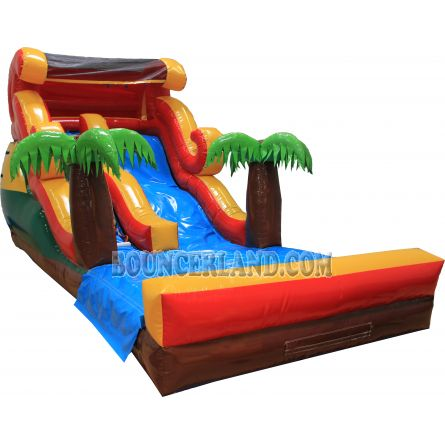 Commercial Inflatable Water Slide 2087