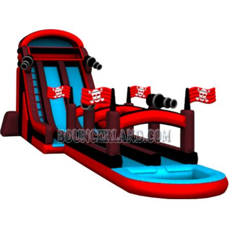 Commercial Inflatable Water Slide 2107
