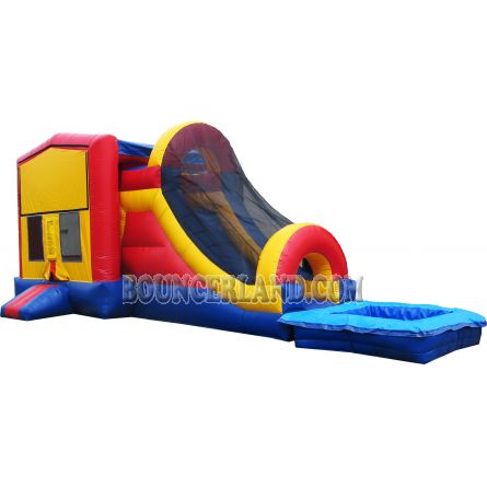 Inflatable Commercial Bouncy Combo 3016