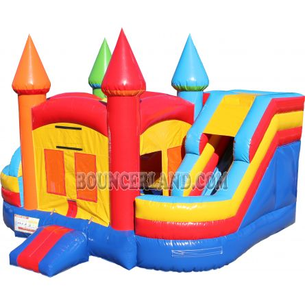 Inflatable Commercial Bouncy Combo 3055