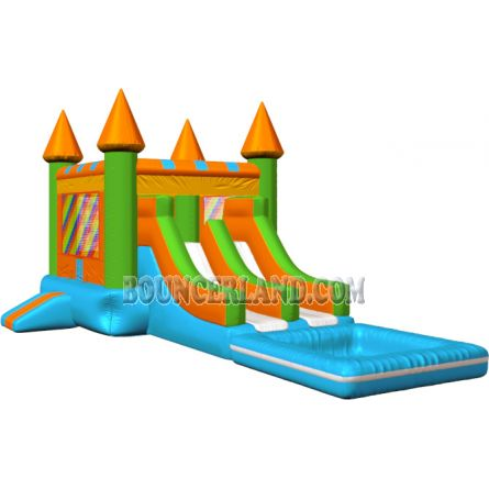 Inflatable Commercial Bouncy Combo 3078