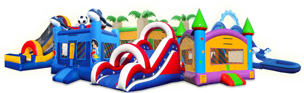 Top Quality Bounce Houses Slides Obstacles for Sale. Made in USA!